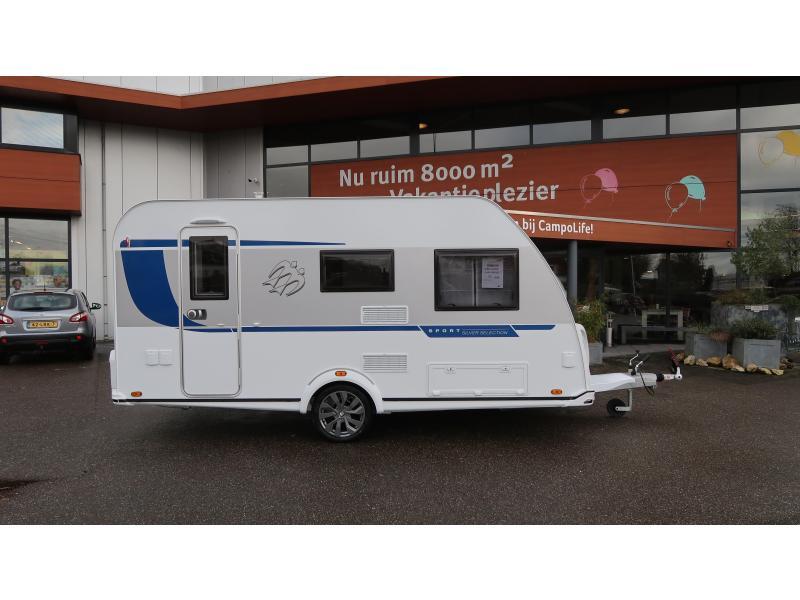 Knaus Sport Silver Selection 400 QD COMPACT 599 CM EN 970 KG! - 2020