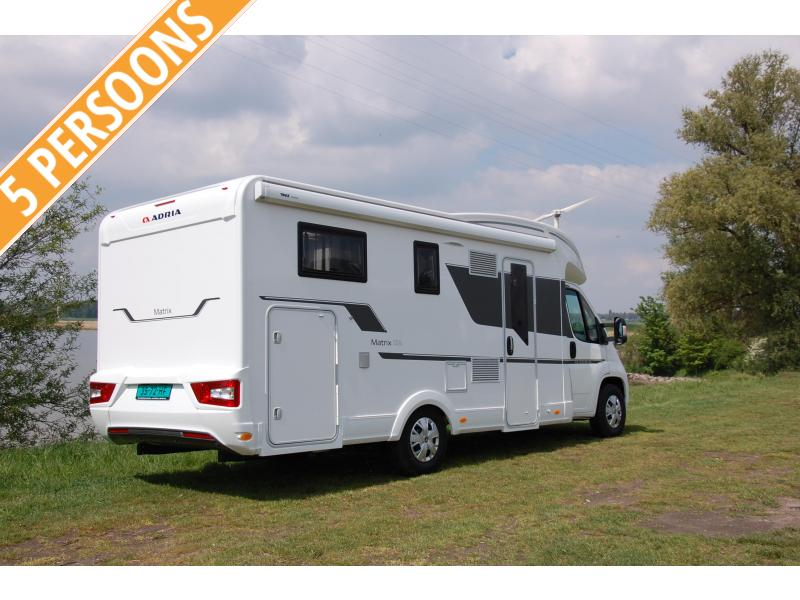 Adria Matrix 670 SL (78) 5 pers. 2021 model