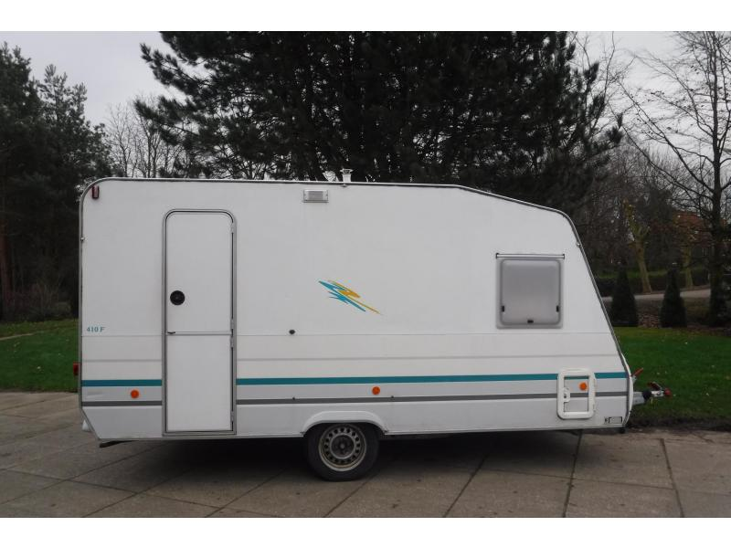 Knaus Marcampo Mustang 410 ATF Fransbed + zit  lichtgew.