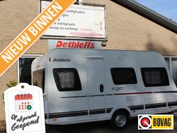 Dethleffs C'Go 415 QL compacte caravan dwarsbed