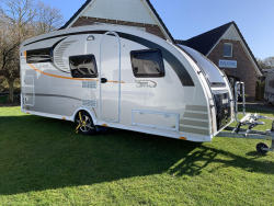 Dethleffs Aero Style  met mover voortent airco