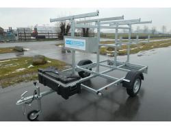 Euroscaffold steigeraanhangwagen