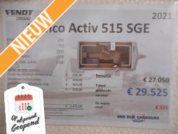 Fendt Bianco Activ 515 SGE NIEUW MODEL 2021
