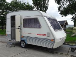 Beyerland Sprinter 350 met nette voortent