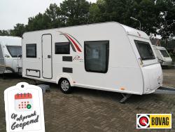 Burstner Premio 490 TS Eilandbed, 3m tent luifel