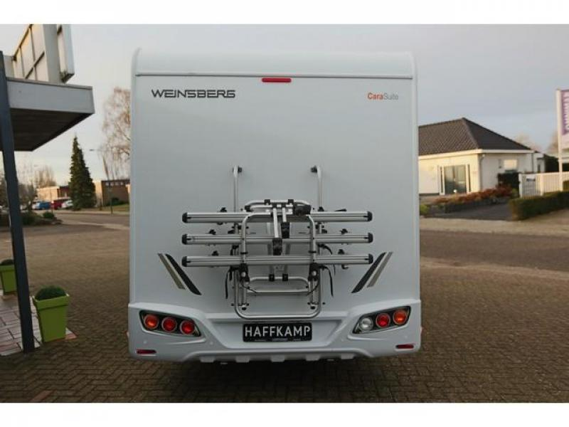 Weinsberg CaraLoft 650 MFH dubbel bed+hefbed, 5pers. - 2017