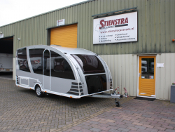 Dethleffs Aero Style 470 Mover Airco Fortex tent