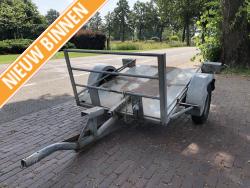 Braamhaar trilplaat trailer