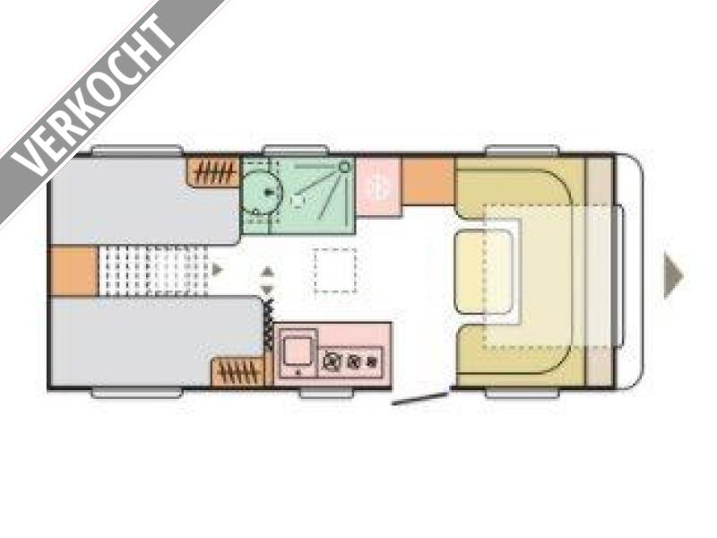 Adria Adora 542 UL 2021 MODEL, RIJKLAAR
